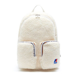 K-WAY ZAINETTO KK4C02 A0M C19 CREAM FUR