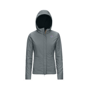 K-Way LILY WARM DOUBLE K11199W A25 BLACK GREY