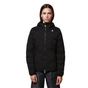 K-Way LILY THERMO STRETCH DOUBLE K111BCW USY Black Pure