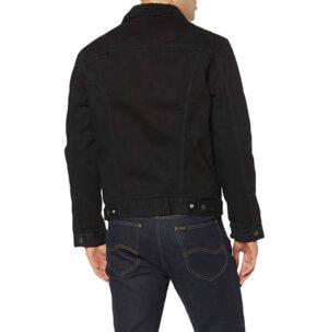 LEVI'S Sherpa Trucker Jacket 16365 0100 NERO
