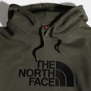THE NORTH FACE FELPA CAPPUCCIO UOMO Drew Peak NF00AHJYBQW1 verde