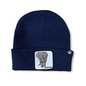 GOORIN BROS BEANIE 107 0209 NAVY ELEPHANT