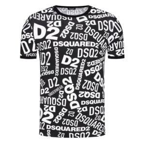 DSQUARED2 T SHIRT D9H143300 018 NERO