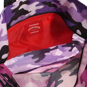 SPRAYGROUND Sprayground Purple Camouflage Beach 910T3305NSZ