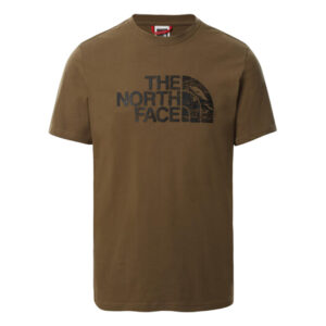 THE NORTH FACE T SHIRT MILITARY OLIVE NF00A3G137U