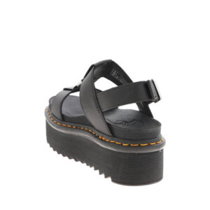 DR MARTENS SANDALO FRANCIS HYDROLEATHER 26525001 NERO