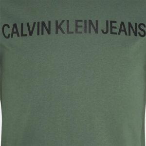 CALVIN KLEIN T SHIRT UOMO J30J307856 LDT DUCK GREEN