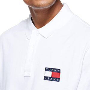 TOMMY JEANS POLO DM0DM10327YBR WHITE