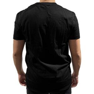 CALVIN KLEIN T SHIRT UOMO J30J307856099 BLACK FUCSIA