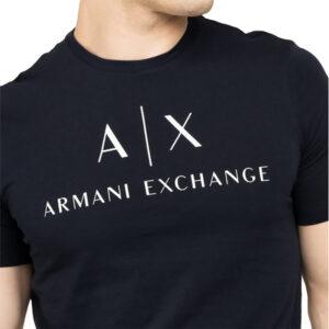 ARMANI EXCHANGE T SHIRT UOMO 8NZTCJ Z8H4Z 1510 NAVY