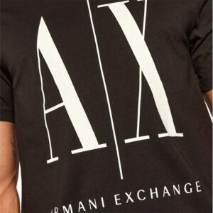 ARMANI EXCHANGE T SHIRT UOMO 8NZTPA ZJH4Z 1200 BLACK