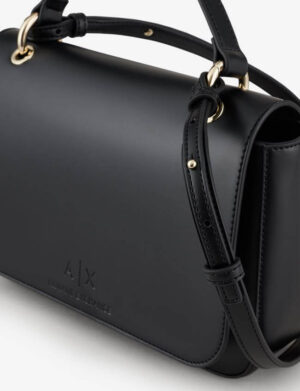ARMANI EXCHANGE MESSANGER BAG DONNA 942736 CC795 00020 BLACK