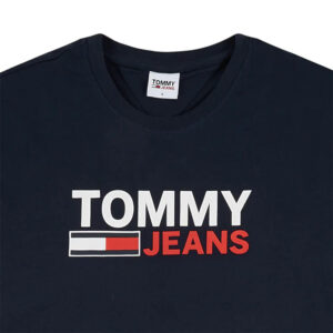 TOMMY JEANS T SHIRT DM0DM10751 C87 NAVY