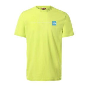 THE NORTH FACE T SHIRT NF0A2TX4JE3 SPRING GREEN