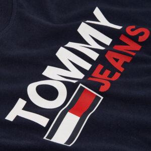 TOMMY JEANS T SHIRT DM0DM10751 C87 NAVY