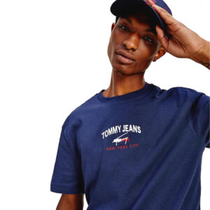 TOMMY JEANS T SHIRT DM0DM10620 C87 NAVY