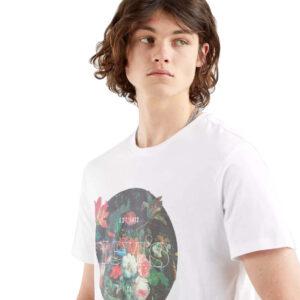 LEVI'S T SHIRT UOMO GRAPHIC CREWNECK TEE 22491 0825 BIANCO