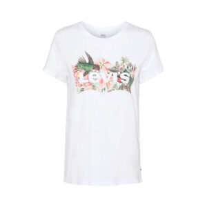 LEVI'S T SHIRT DONNA THE PERFECT TEE 17369 1265 BIANCO