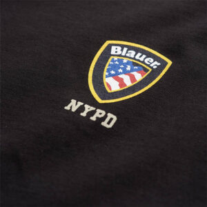 BLAUER T SHIRT MANICA CORTA 21SBLUH02130 4547 999 NERO