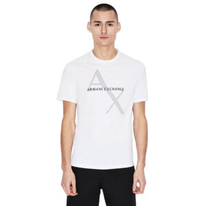 ARMANI EXCHANGE T SHIRT UOMO 8NZT76 Z8H4Z 1100 WHITE