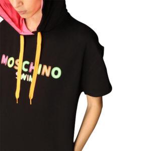 MOSCHINO FELPA DONNA A1702 2117 555 BLACK