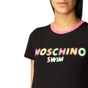 MOSCHINO T SHIRT DONNA A1902 2116 555 BLACK