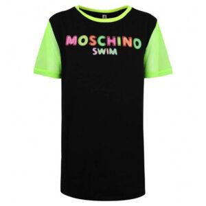 MOSCHINO T SHIRT DONNA A1903 2116 555 BLACK