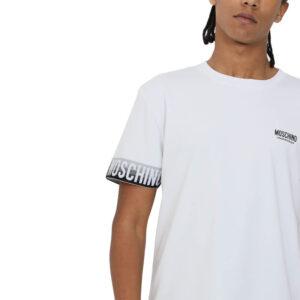 MOSCHINO T SHIRT UOMO A1930 8105 1555 WHITE