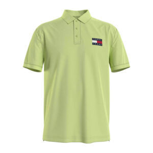 TOMMY JEANS POLO UOMO DM0DM10327 LT3 LIME