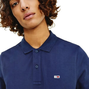 TOMMY JEANS POLO UOMO DM0DM09439 C87 NAVY