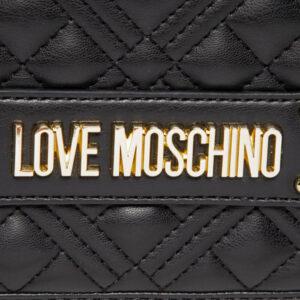 LOVE MOSCHINO BORSA QUILTED NAPPA PU NERO JC4000PP1CLA0000