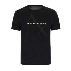 ARMANI EXCHANGE T SHIRT UOMO 8NZT76 Z8H4Z 1200 BLACK