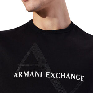 ARMANI EXCHANGE T SHIRT UOMO 8NZT76 Z8H4Z 1200 BLACK