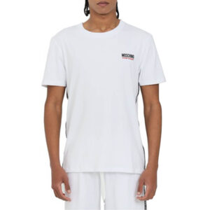 MOSCHINO T SHIRT UOMO A1927 8131 0001 WHITE