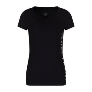 ARMANI EXCHANGE T SHIRT DONNA 3KYTGU YJW1Z 1200 BLACK