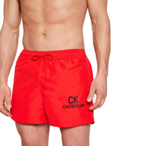 CALVIN KLEIN BOXER MARE UOMO KM0KM00562 XND RED