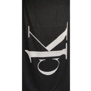 CALVIN KLEIN TOWEL KU0KU00079 BEH NERO