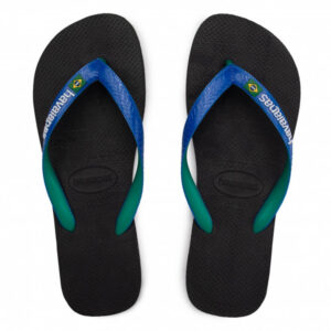 HAVAIANAS 41232063768 BRASIL MIX BLACK BLUE STAR