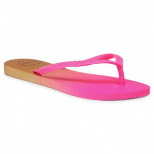 HAVAIANAS 41460978890 SLIM GRADIENT WHITE FLUORESCENT PINK FLUX