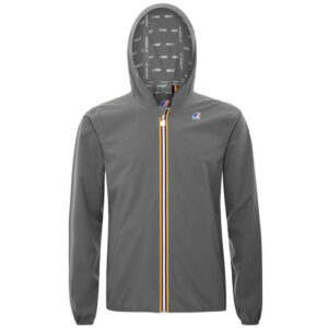 K-WAY UOMO JACQUES STRETCH DOT K00BBV0 X5R GREY SMOKED