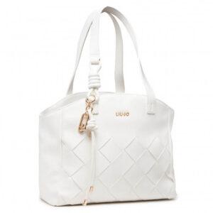 LIU JO TOTE BAG AA1296 E0003 01065 WHITE