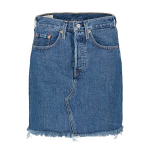 Levi's® HIGH RISE DECONSTRUCTED SKIRT DONNA 77882 0009 BLUE