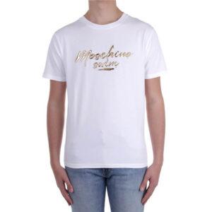 MOSCHINO T SHIRT UOMO A1908 2325 1 WHITE