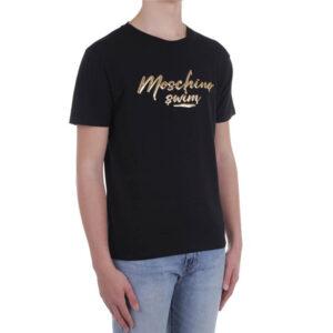MOSCHINO T SHIRT UOMO A1908 2325 555 BLACK