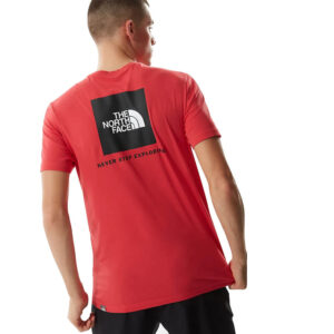 THE NORTH FACE RED BOX T SHIRT NF0A2TX2V341 RED