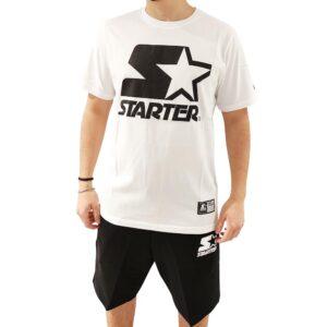 STARTER T SHIRT 72402 BIANCO