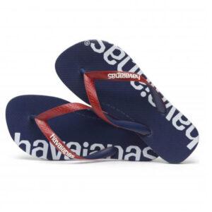 HAVAIANAS 41457270555 TOP LOGOMANIA HIGHTECH NAVY BLUE