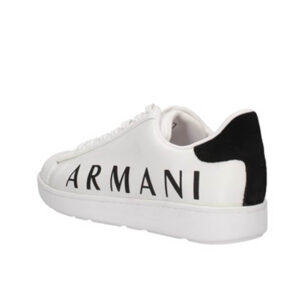 ARMANI EXCHANGE SNEAKER UOMO XUX084 XV289 K488 WHITE BLACK