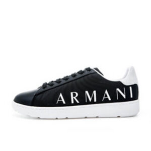 ARMANI EXCHANGE SNEAKER UOMO XUX084 XV289 N642 BLACK WHITE