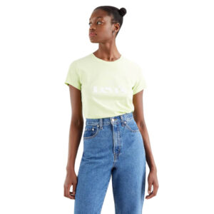 Levi's® T SHIRT DONNA THE PERFECT TEE CIRCLE 17369 1296 LIME
